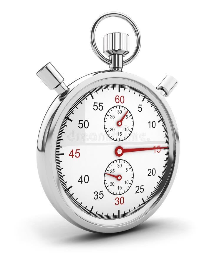 ícone do cronômetro 3d ilustração stock