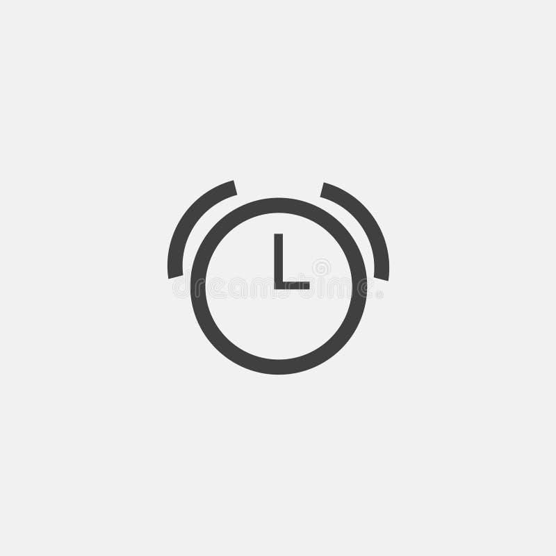 Ícone do despertador ilustração stock