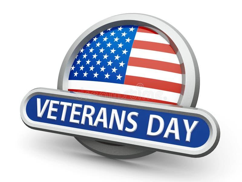 Ícone do dia de veteranos ilustração do vetor