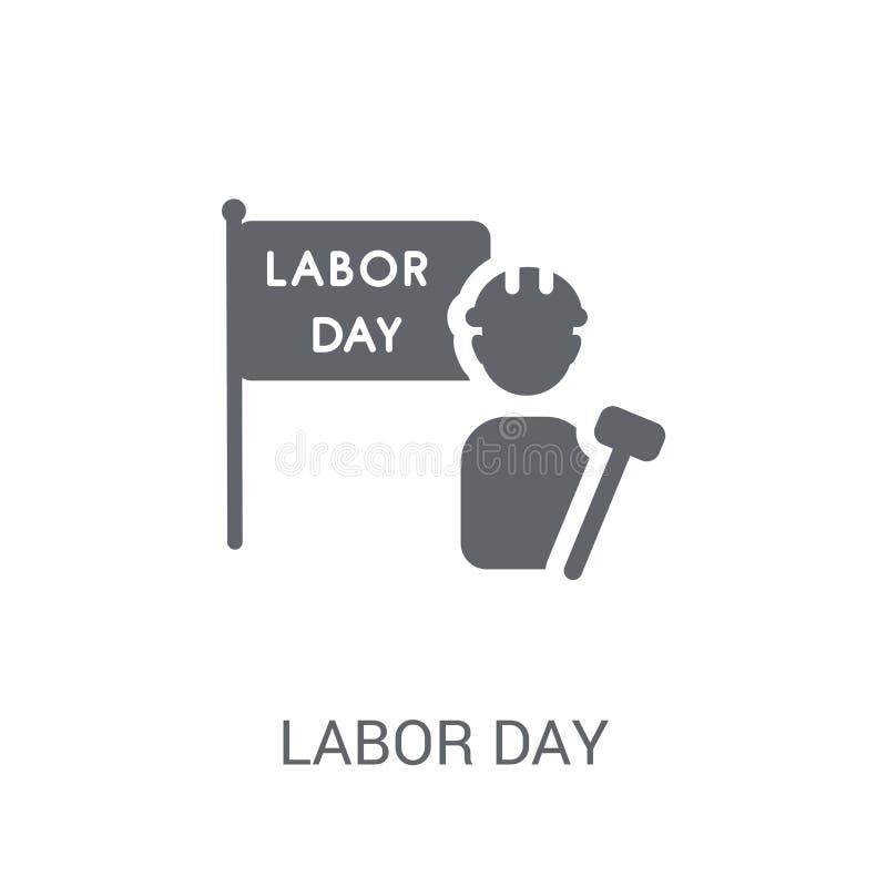 Ícone do Dia do Trabalhador  ilustração stock