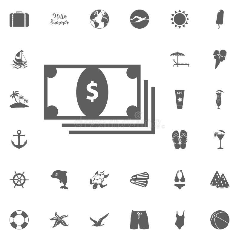 Ícone do dinheiro ilustração do vetor
