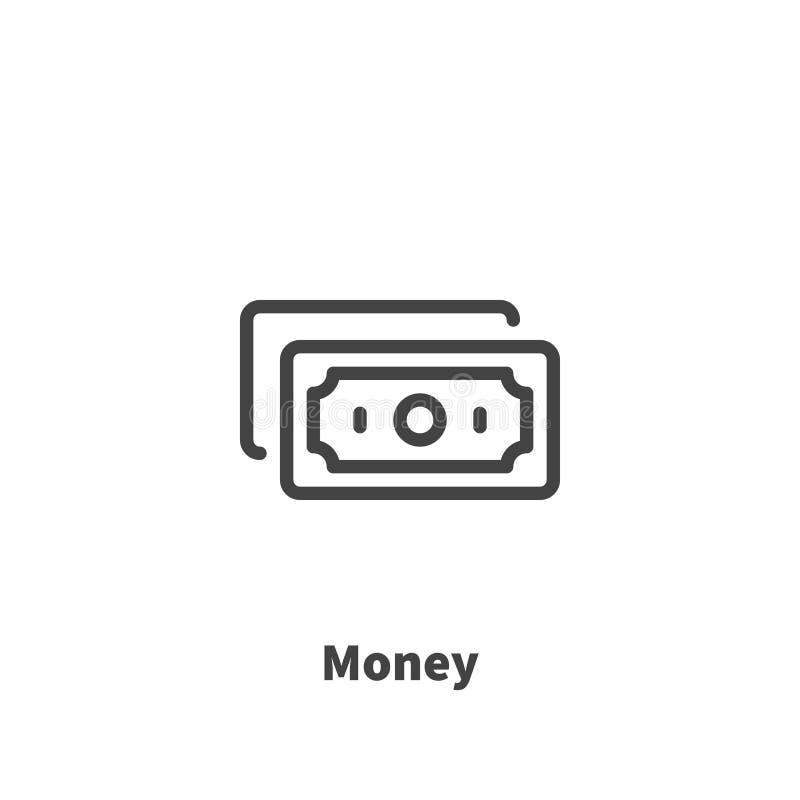 Ícone do dinheiro, símbolo do vetor ilustração do vetor