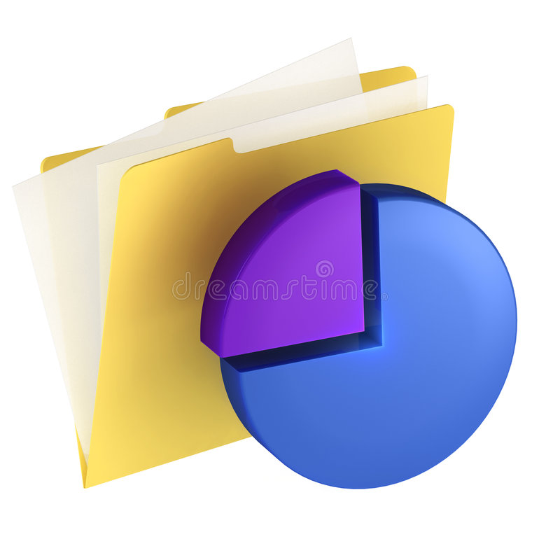 Ícone do dobrador ilustração stock