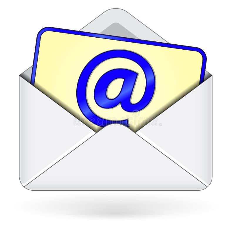 Ícone do email ilustração royalty free
