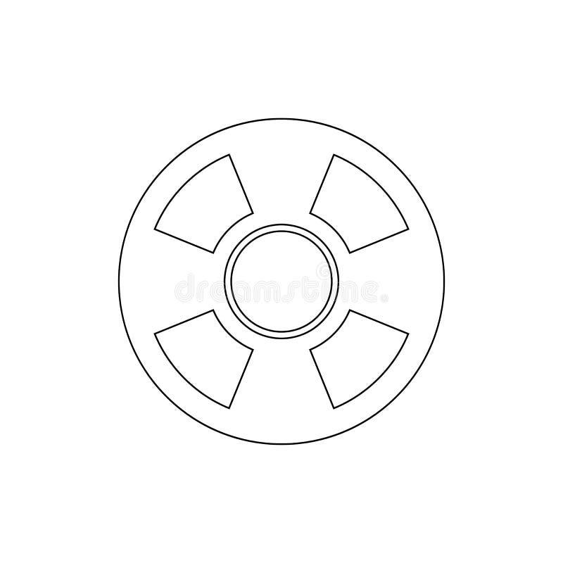 Ícone do esboço do apoio do salvamento da pergunta da ajuda Os sinais e os s?mbolos podem ser usados para a Web, logotipo, app m? ilustração do vetor