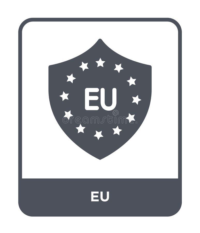 ícone do eu no estilo na moda do projeto ícone do eu isolado no fundo branco símbolo liso simples e moderno do ícone do vetor do  ilustração do vetor