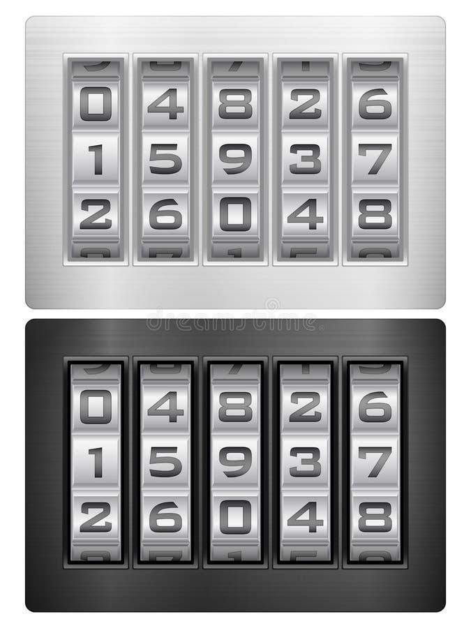 Ícone do fechamento de combinação ilustração do vetor