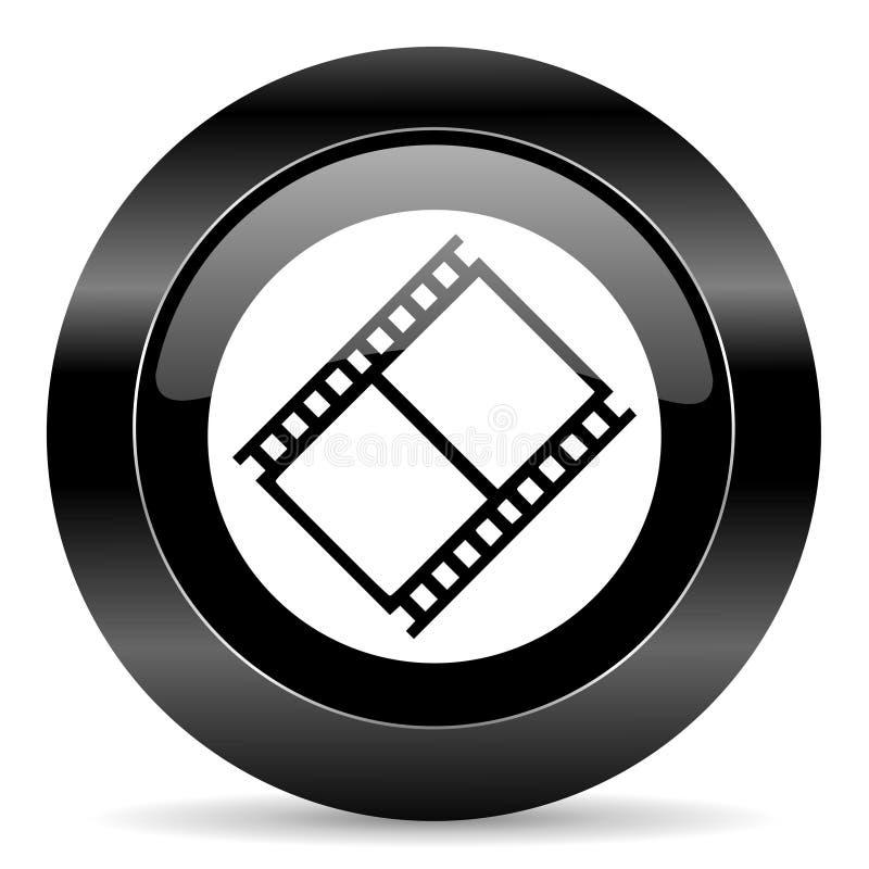 Ícone do filme imagem de stock royalty free