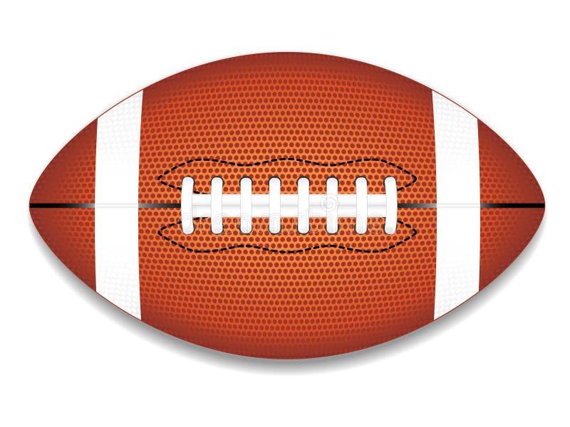Ícone do futebol americano (NFL) ilustração stock