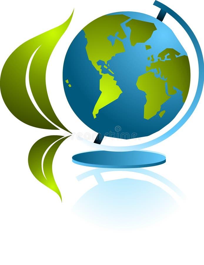 Ícone do Glob ilustração do vetor