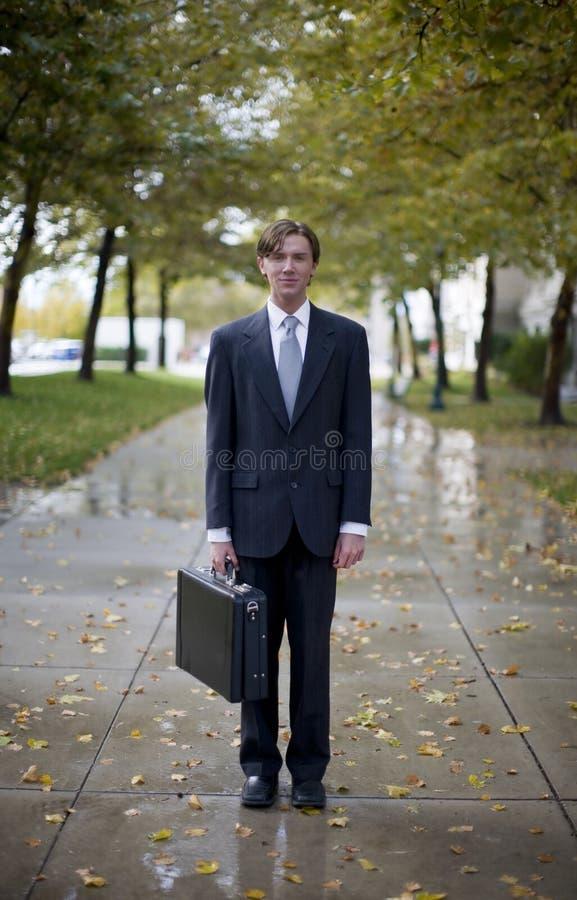 Ícone do homem de negócios foto de stock