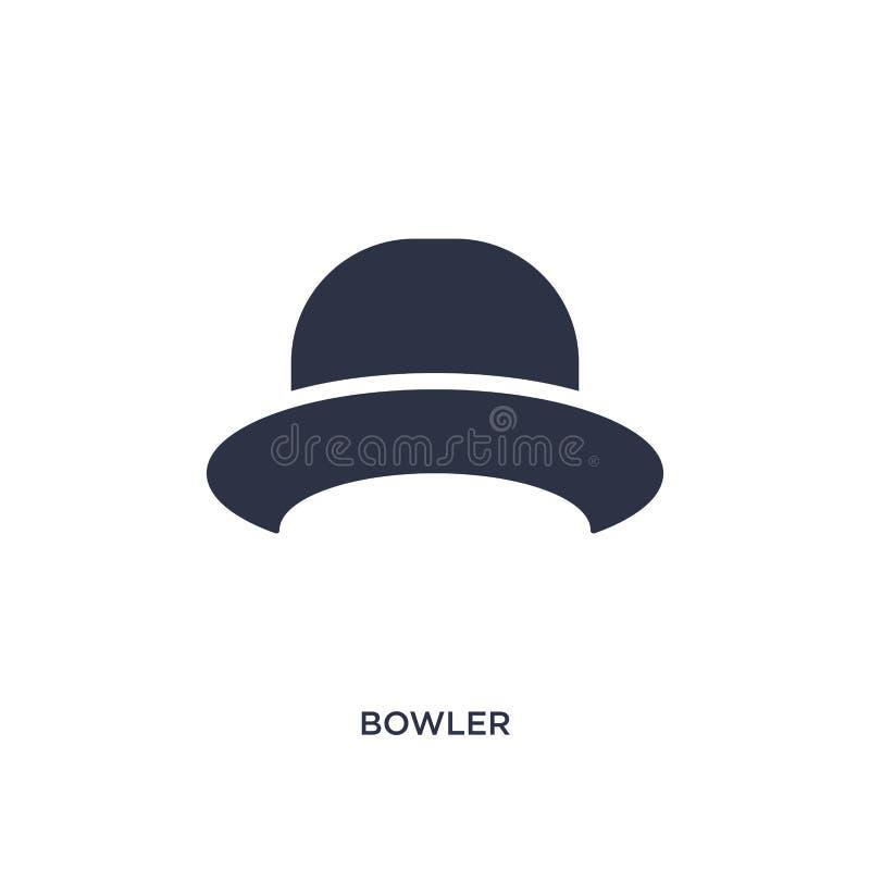 ícone do jogador no fundo branco Ilustração simples do elemento do conceito da roupa ilustração royalty free