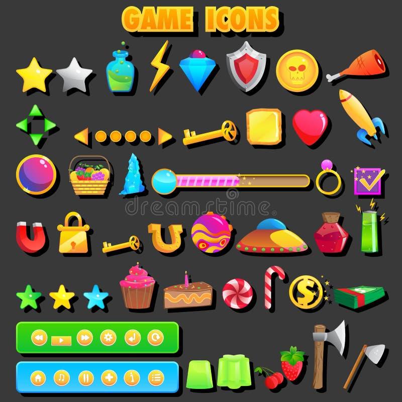 Ícone do jogo ilustração do vetor