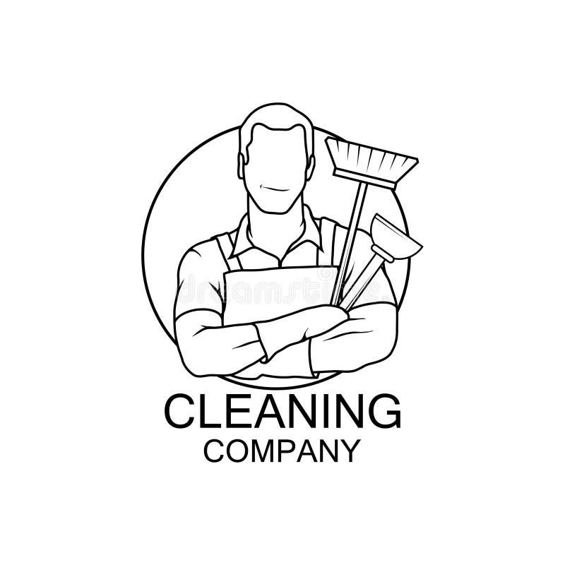 Ícone do líquido de limpeza da ilustração do vetor cleaner ilustração royalty free
