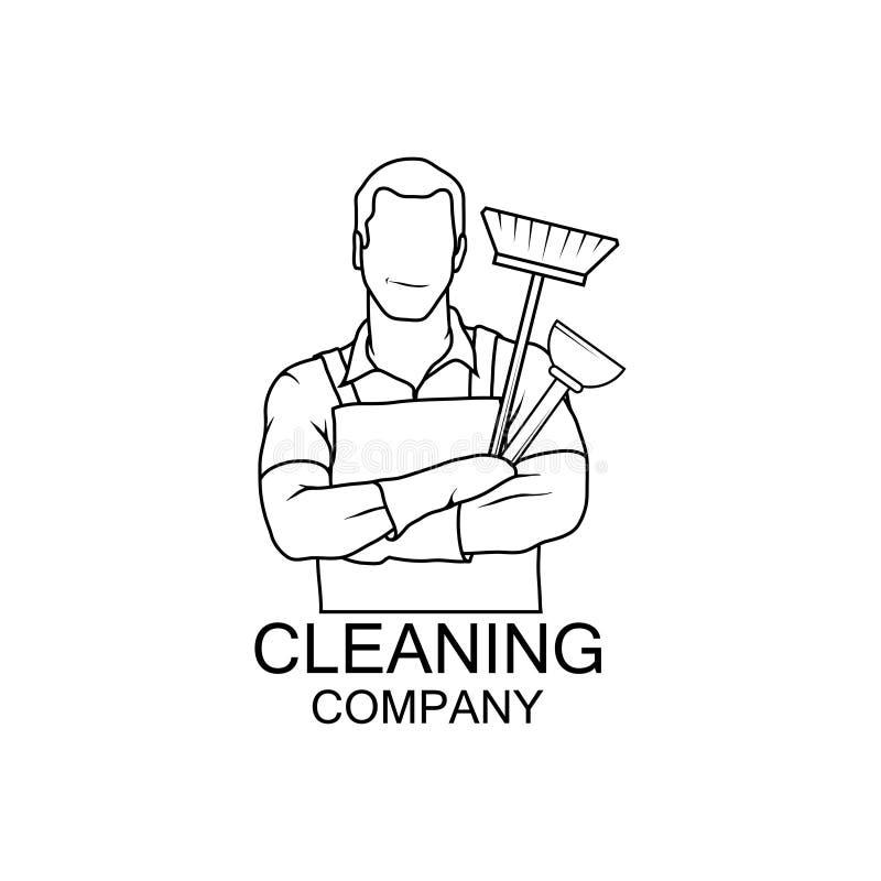 Ícone do líquido de limpeza da ilustração do vetor cleaner ilustração do vetor