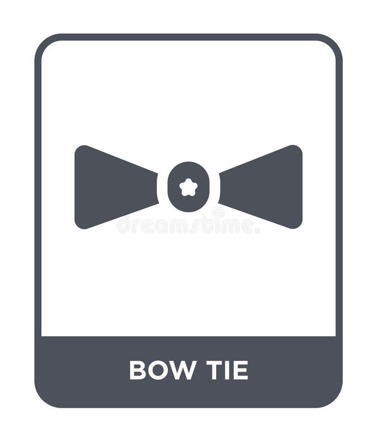 ícone do laço no estilo na moda do projeto Ícone do laço isolado no fundo branco símbolo liso simples e moderno do ícone do vetor ilustração royalty free