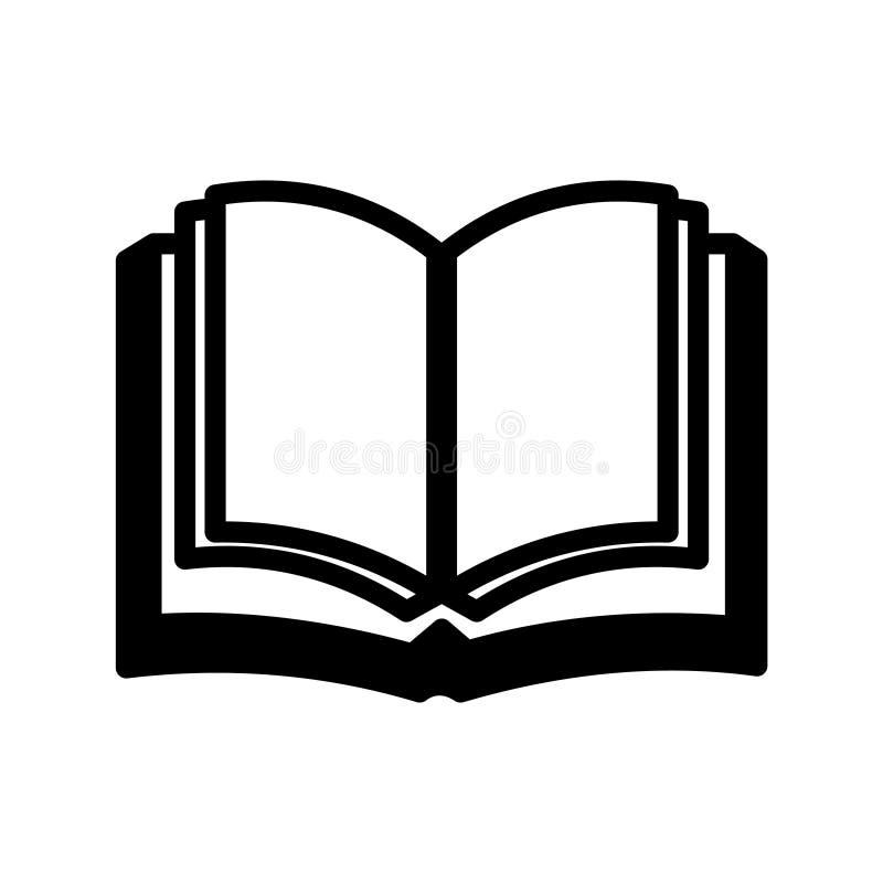 Ícone do livro ilustração royalty free