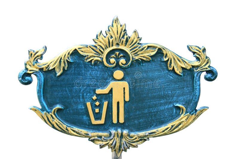 Ícone Do Lixo Imagem de Stock
