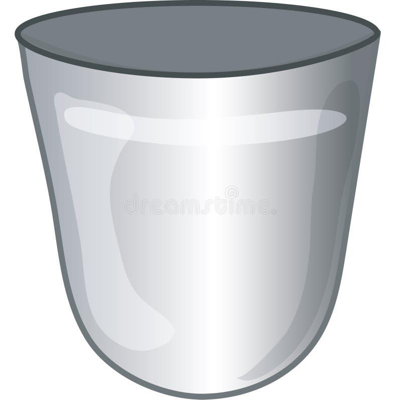 Ícone do lixo ilustração do vetor