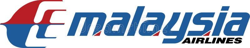 Ícone do logotipo de Malaysia Airlines ilustração royalty free