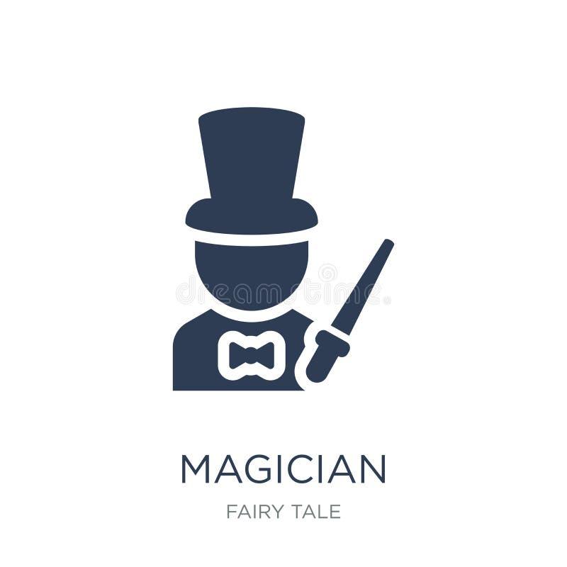 Ícone do mágico  ilustração royalty free