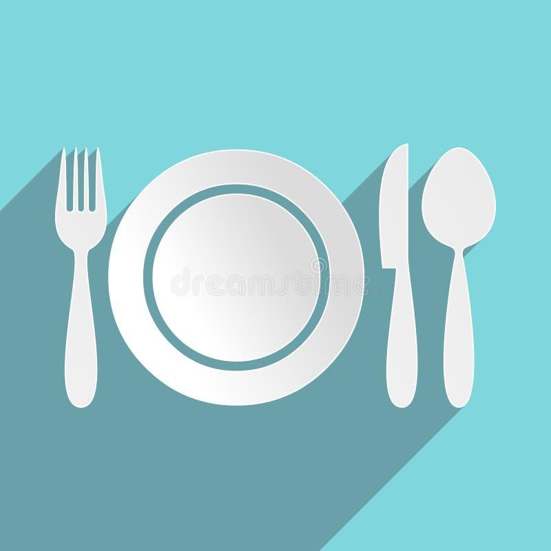 Ícone do menu do restaurante