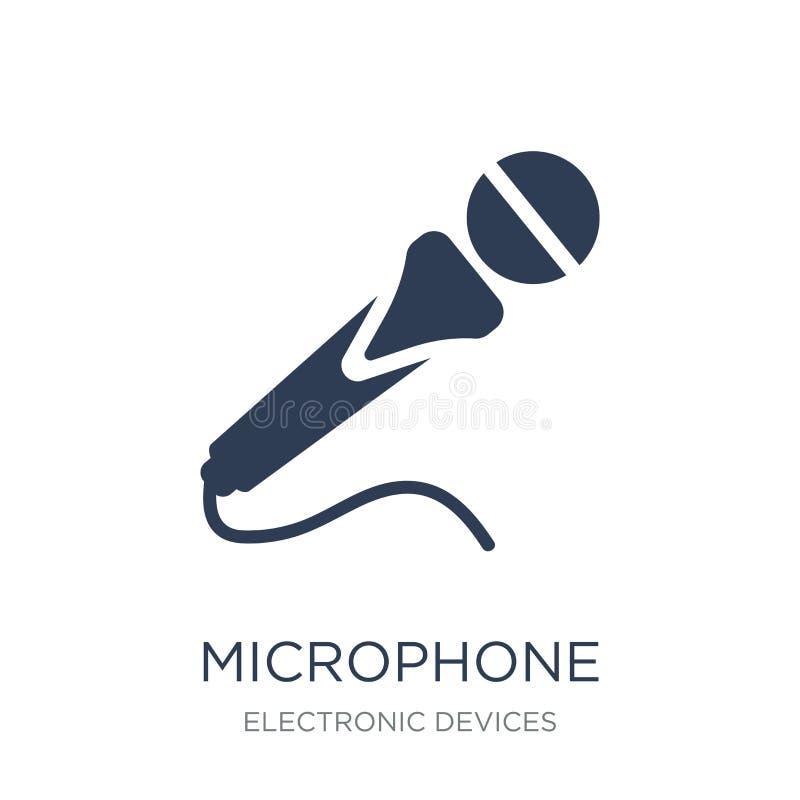 Ícone do microfone  ilustração stock