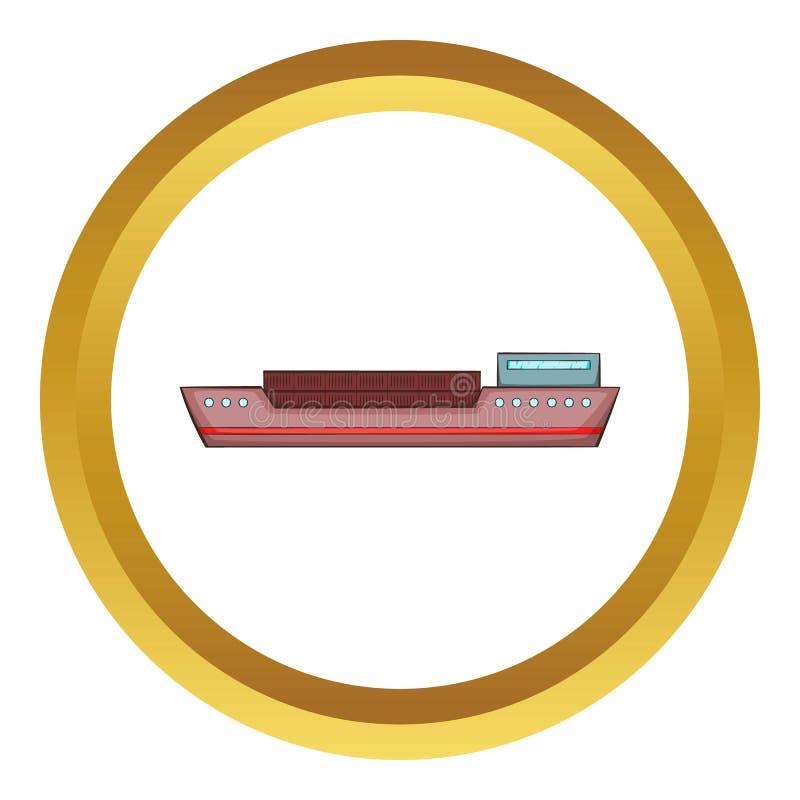 Ícone do navio ilustração royalty free