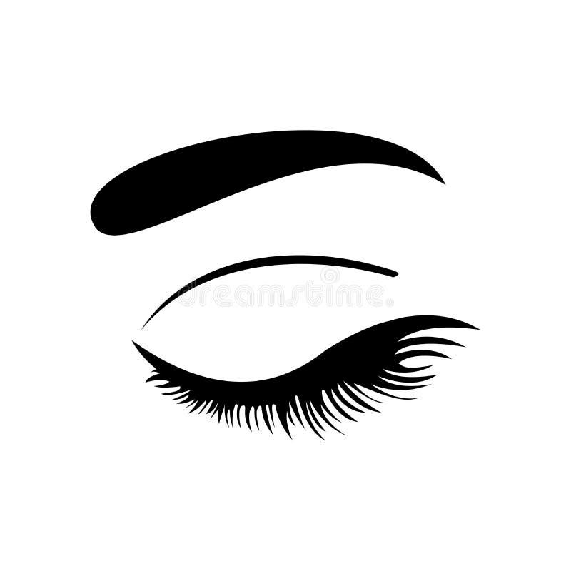 Ícone do olho Eyes o símbolo Ilustração do vetor ilustração royalty free