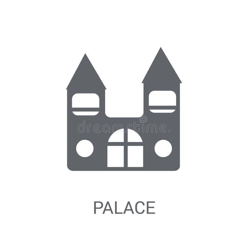 Ícone do palácio  ilustração do vetor