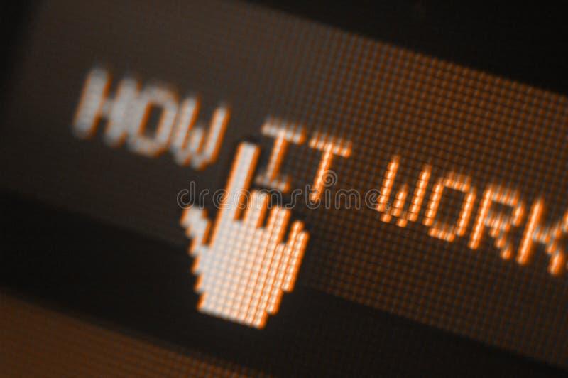Ícone do pixel imagem de stock royalty free