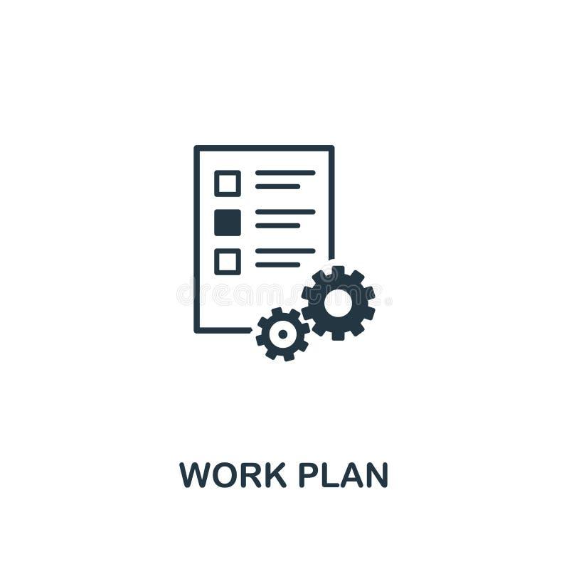 Ícone do plano de trabalho r Ícone perfeito para o design web, apps do plano de trabalho do pixel, ilustração do vetor