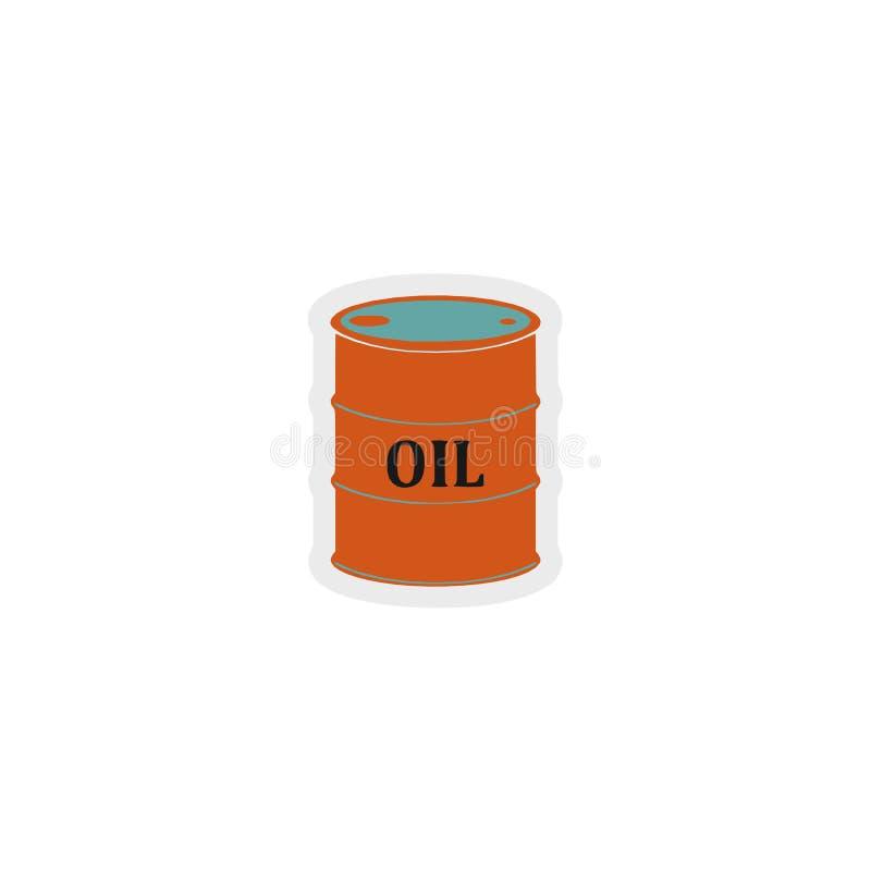 Ícone do posto de gasolina, sinal, a melhor ilustração 3D imagem de stock royalty free