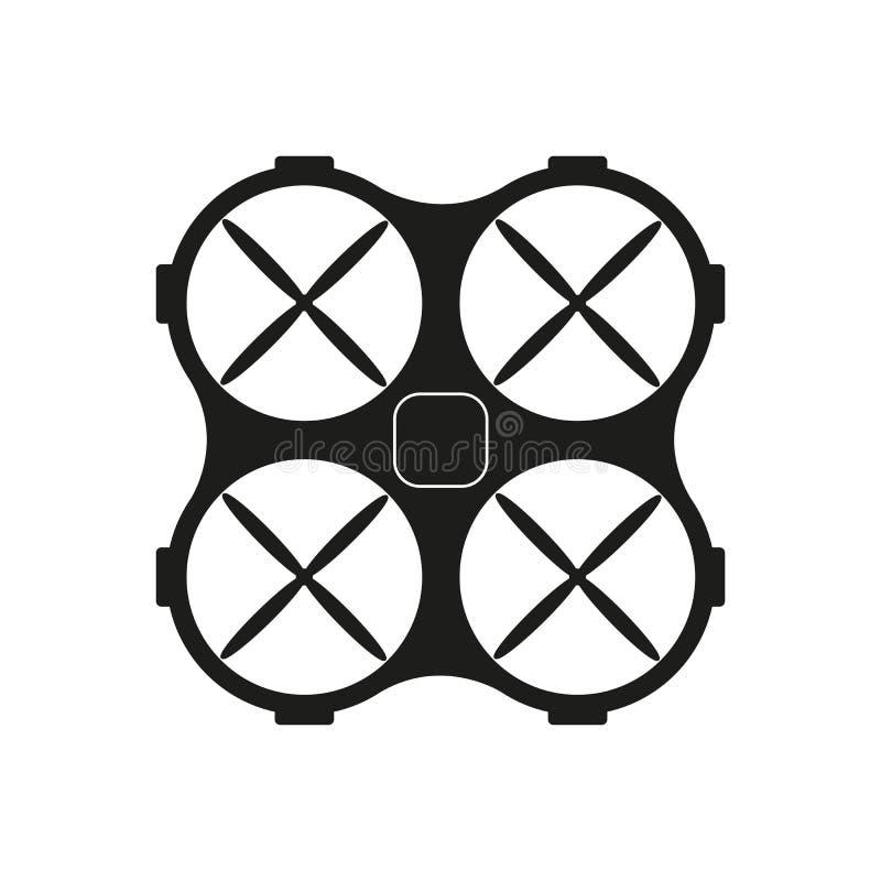 Ícone do preto de Dron