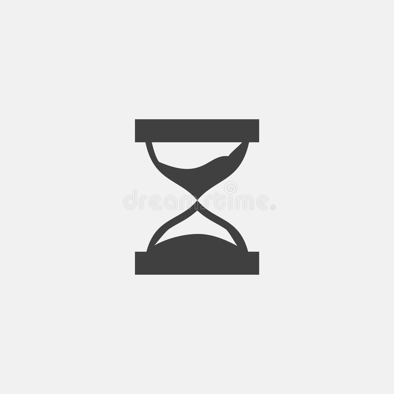 Ícone do pulso de disparo da areia ilustração royalty free