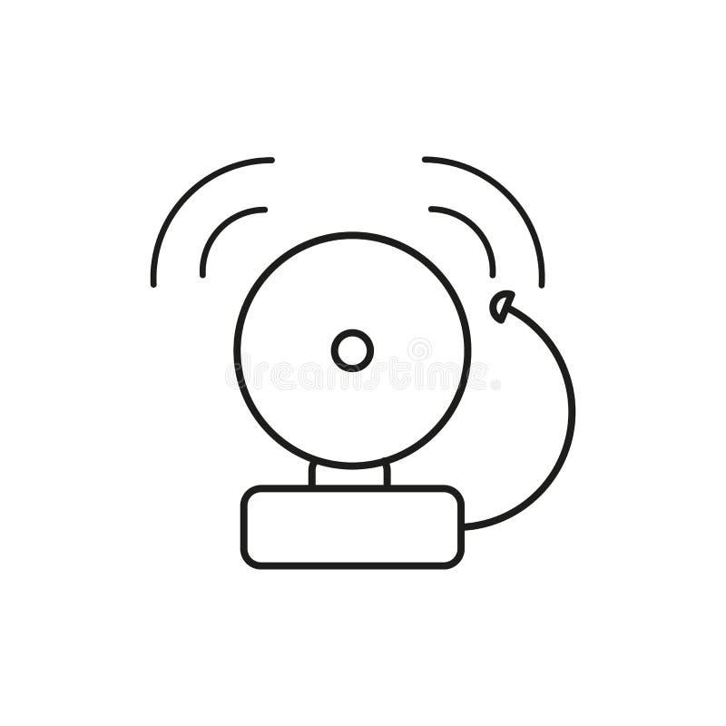 Ícone do ruído da voz ilustração royalty free