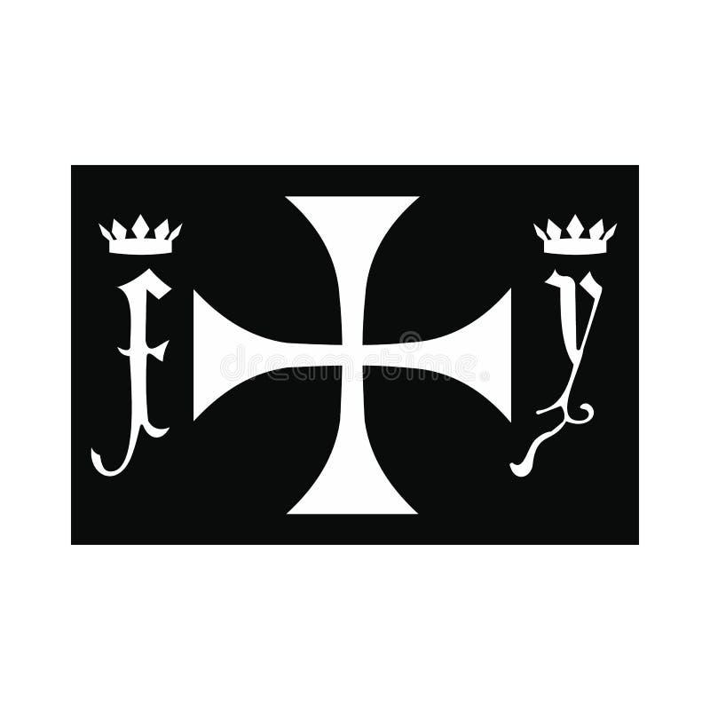 Ícone do símbolo do Dia de Colombo ilustração royalty free