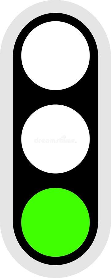 Ícone do sinal de tráfego ilustração royalty free
