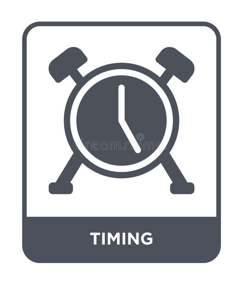 ícone do sincronismo no estilo na moda do projeto ícone do sincronismo isolado no fundo branco símbolo liso simples e moderno do  ilustração do vetor