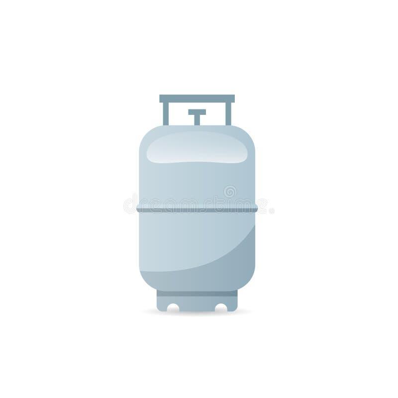 Ícone do tanque de gás do propano ilustração stock