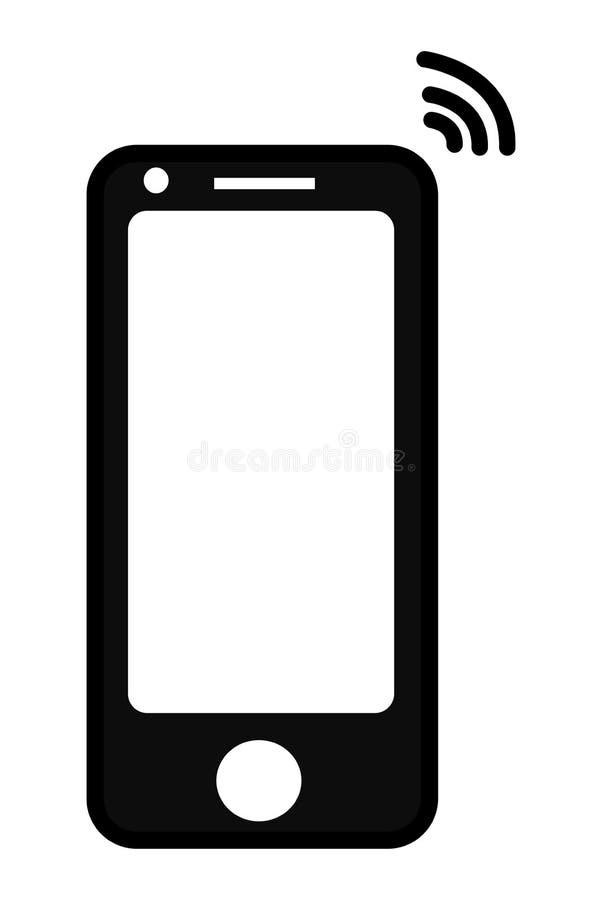 Ícone do telefone celular ilustração stock