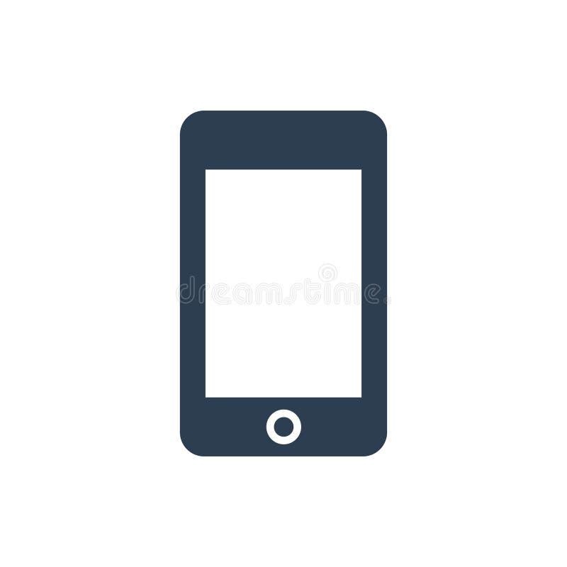 Ícone do telefone de pilha ilustração do vetor