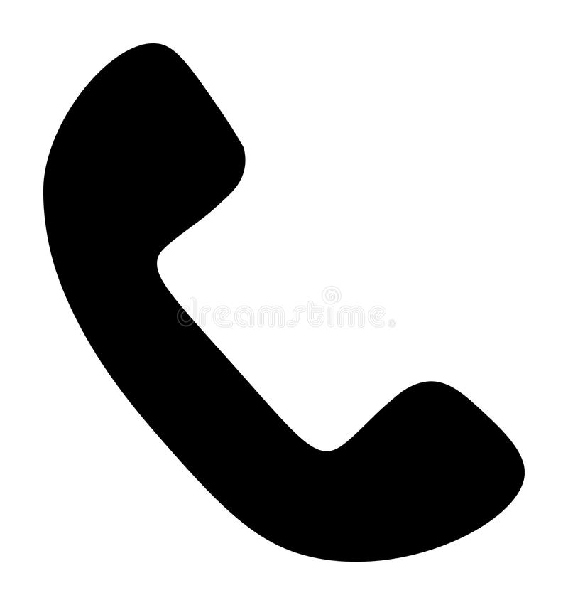 Ícone do telefone do vetor ilustração do vetor