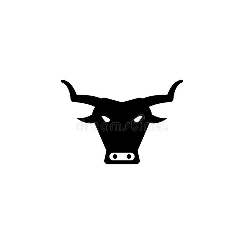 ícone do touro Elemento da cultura do ícone de spain Ícone superior do projeto gráfico da qualidade Sinais e ícone da coleção dos ilustração royalty free