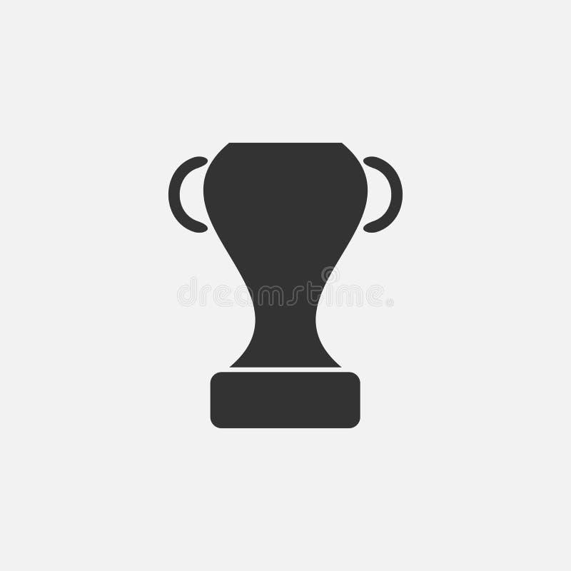 Ícone do troféu, concessão, campeão, esporte ilustração royalty free