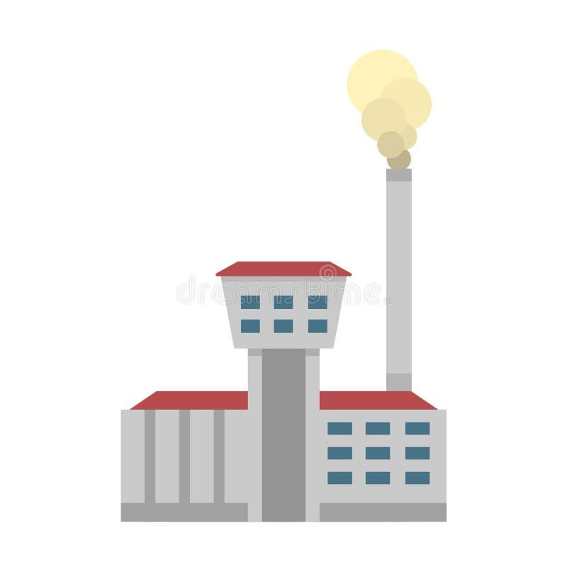 Download Ícone Do Vetor Da Fonte De Energia Ilustração do Vetor - Ilustração de estação, energia: 80100978