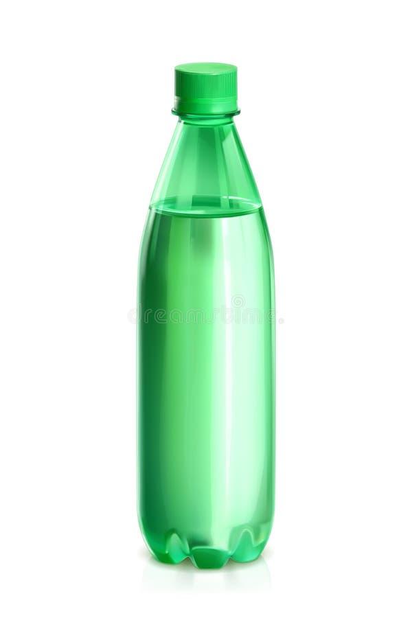 Ícone do vetor da garrafa de água ilustração do vetor