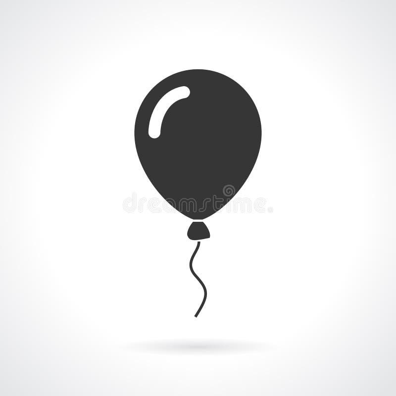 Ícone do vetor do balão ilustração royalty free