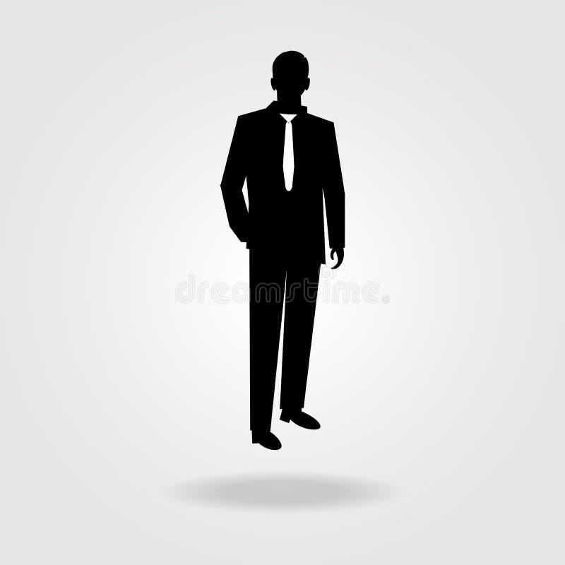 Ícone do vetor do homem ilustração royalty free