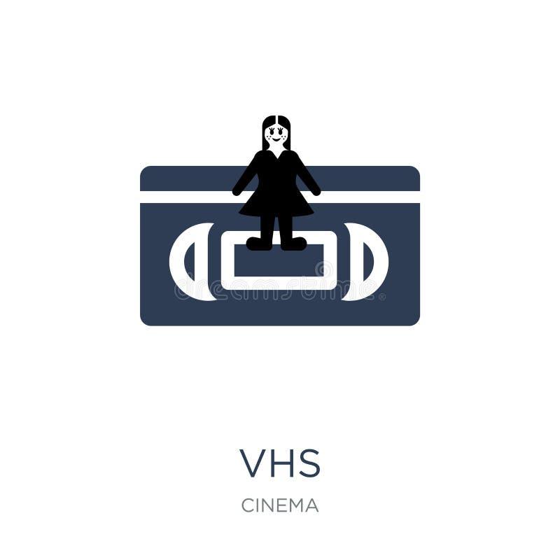 Ícone do VHS  ilustração do vetor